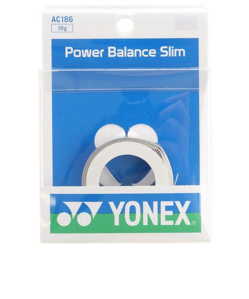 ヨネックス(YONEX)バドミントン パワーバランススリム AC186-017