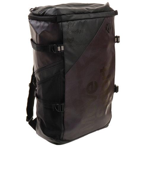 デサント(DESCENTE)リュック スクエアバッグL 40L バックパック ブラック グレー DMAPJA05 BKGR