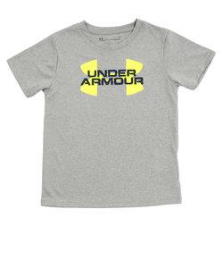 アンダーアーマー(UNDER ARMOUR)レンチキュラー ロゴプレスクールTシャツ 1319647 BLK/WHT AT オンライン価格