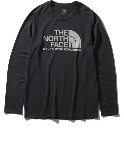 ノースフェイス(THE NORTH FACE)長袖GTDロゴクルー NT12093 K オンライン価格