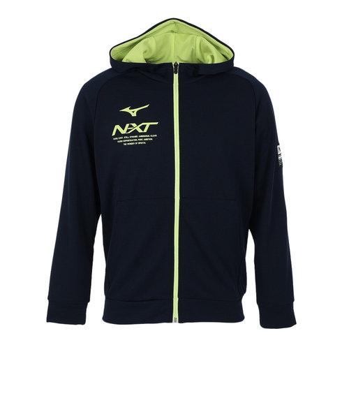 ミズノ(MIZUNO)パーカー N-XT スウェットフルジップフーディ 32JC023014 オンライン価格