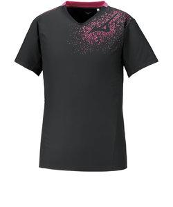 ミズノ(MIZUNO)半袖ブレーカーシャツ V2ME011196 【バレーボールウェア ピステシャツ トップス】