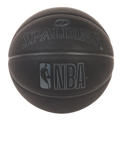 スポルディング(SPALDING)ダークナイト ブラック 合成皮革 7号球 NBAロゴ入り 76-486J