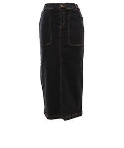 スウィベル(Swivel)デニムストレッチスカート 870SW0EG3279 BLK