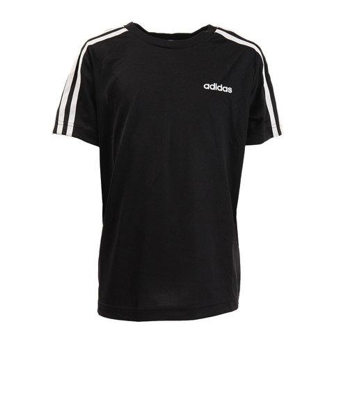 アディダス(adidas)ボーイズ D2M 3ストライプス 半袖Tシャツ HAF05-FM0761 オンライン価格