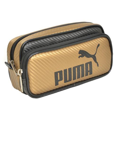プーマ(PUMA)カラーカーボン ペンケース GLD 787PMGL