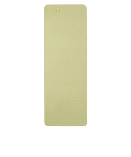 ウィッテム(HUITIEME)ヨガマット 6mm 高クッション 高グリップ エクササイズマット ダイエット グリーン HU18CM8414288