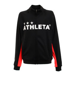アスレタ(ATHLETA)サッカー ジュニア ウェア ジャージジャケット XE-365J 黒