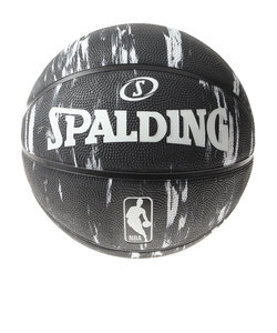 スポルディング(SPALDING)バスケットボール 7号球 (一般 大学 高校 中学校) 男子用 NBA ロゴマン 84-093J 自主練