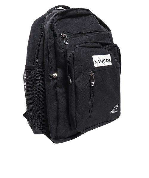 カンゴール(KANGOL)ラインボックスロゴ バックパック KGSA-BG00019 BLKBLK