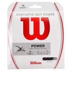 ウイルソン(WILLSON)硬式テニスストリング SYNTHETIC POWER BLK WRZ945200