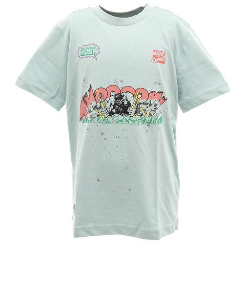 アディダス(adidas)ボーイズ MARVEL HULK 半袖Tシャツ GUW19-FM3729 オンライン価格