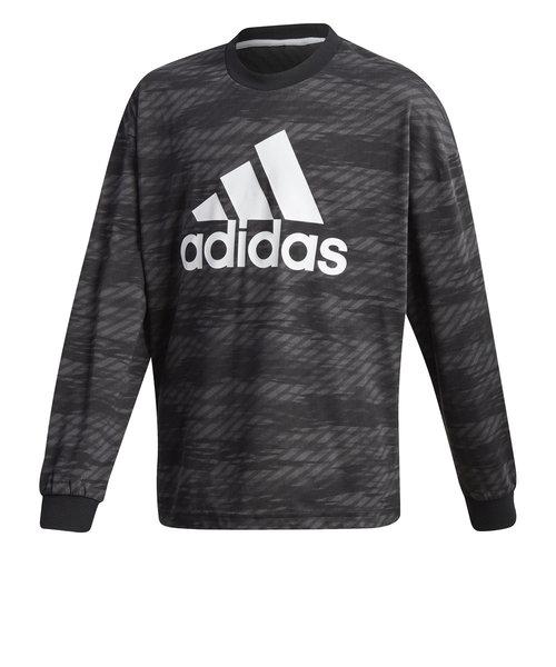 アディダス(adidas)S2S グラフィック 長袖Tシャツ IXF96-GD9154 オンライン価格