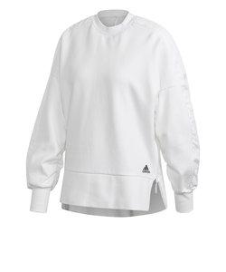 アディダス(adidas)テッキー ウーブンインサート付きロング スウェットシャツ IJM26-GH4655 母の日
