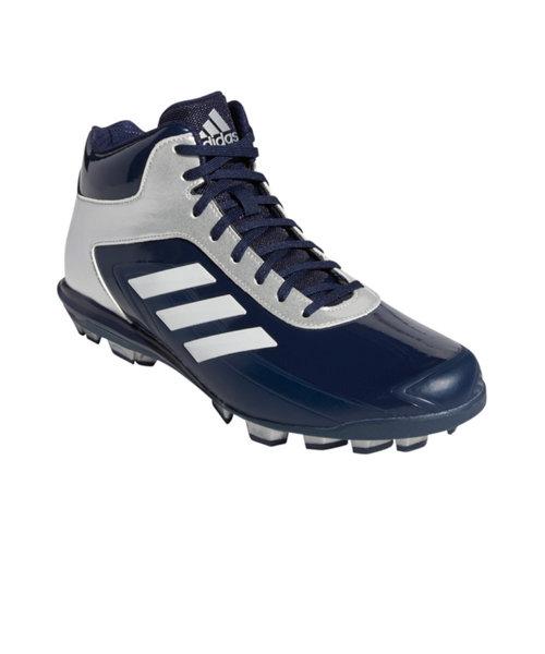 アディダス(adidas)野球 スパイク ポイント 一般 アディゼロ スタビル POINT MID 60 EG2393