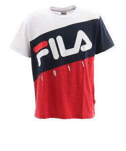 フィラ(FILA)切替半袖Tシャツ FM5104-01 オンライン価格