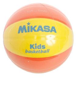 ミカサ(MIKASA)スマイルバスケット 5号球 イエロー/オレンジ SB512-YO 自主練