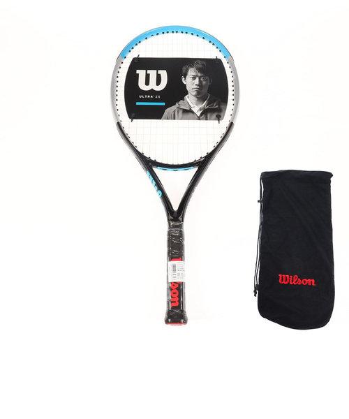 ウイルソン(WILLSON)ジュニア 硬式用テニスラケット ULTRA 25 V3.0 WR043610S 【国内正規品】