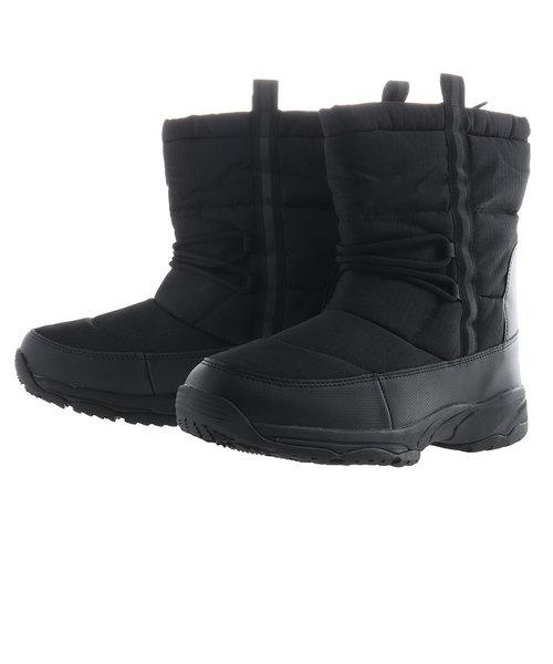 ナイロンブーツ 805Z9SY4808 BLK あったか ブーツ  防寒 発熱機能素材 スノトレ 雪道 ウインターシューズ