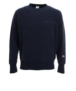 チャンピオン-ヘリテイジ(CHAMPION-HERITAGE)ポケット付き クルーネックスウェットシャツ C8-S044 370
