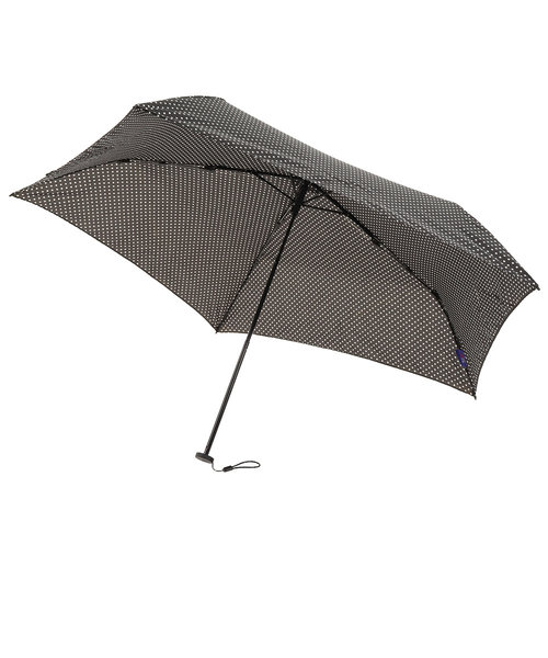 折りたたみ傘 ピンドット 830-004 BK