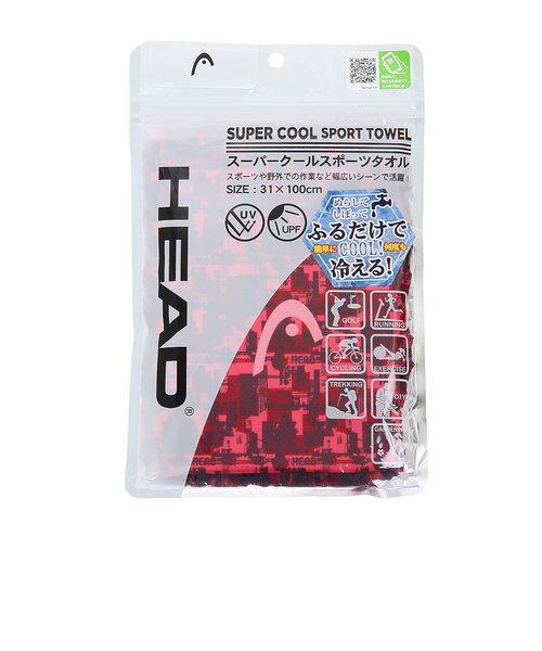 ヘッド(HEAD)スーパークールスポーツタオルRD 0800210-RD