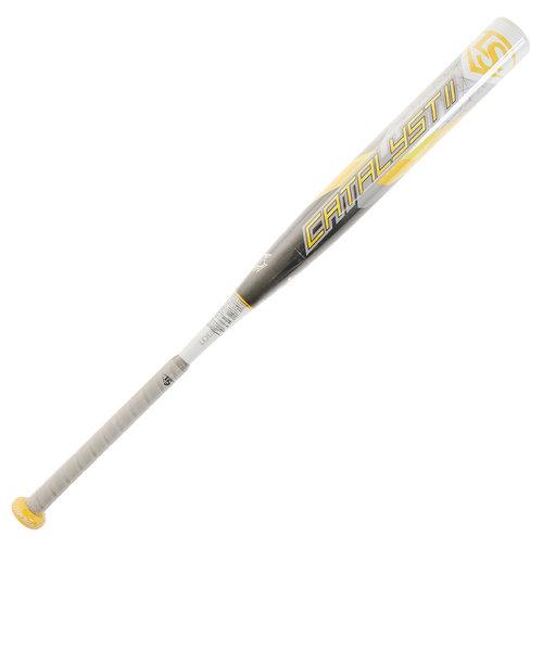 ソフトボール用バット カタリスト2 84cm/平均710g WTLJGS20M8471