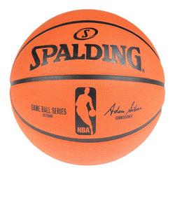 スポルディング(SPALDING)ゲームボールレプリカ ラバー 5号球 NBAロゴ入り 83-042Z