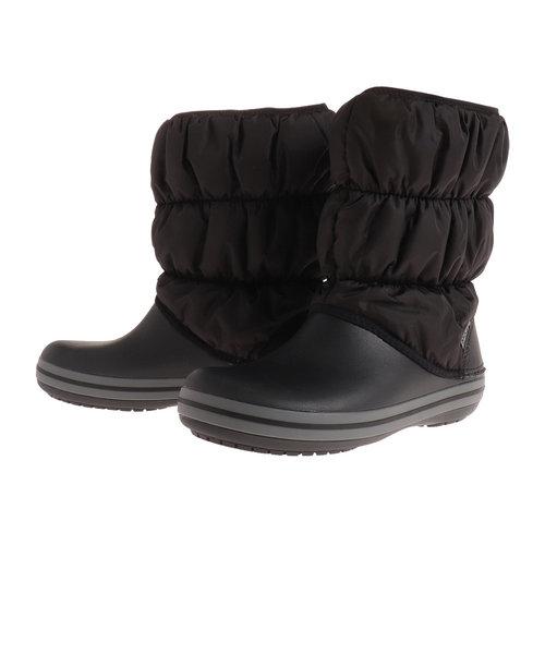 クロックス(crocs)ウィンター パフブーツ 14614-070 BK