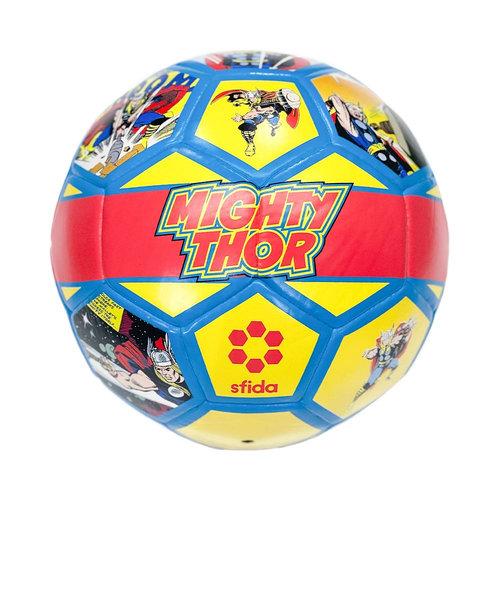 スフィーダ(SFIDA)サッカーボール レトロ柄 HEROシリーズ マイティ・ソー SB-21MV01