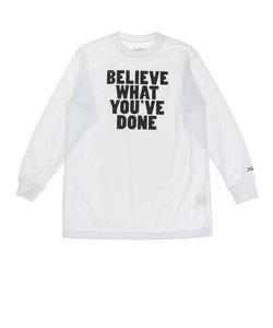 エックスティーエス(XTS)ジュニア ドライプラス 長袖Tシャツ 751G0ES1638  WHT