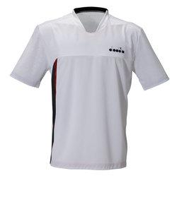 ディアドラ(diadora)ELT メッシュトップ DTP0582-9090 【 メンズ 半袖シャツ テニス バドミントン ウェア 】