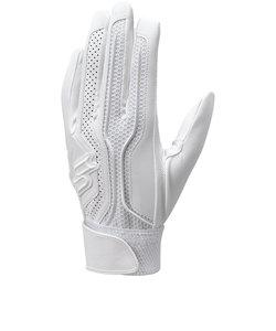 エスエスケイ(SSK)高校野球対応シングルバンド手袋 両手 EBG3002W