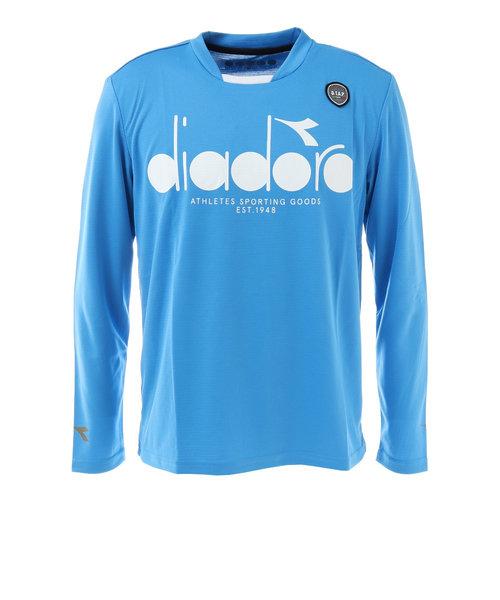 ディアドラ(diadora)ロングスリーブTシャツ DTP0531-60 【 メンズ 長袖シャツ テニス バドミントン ウェア 】