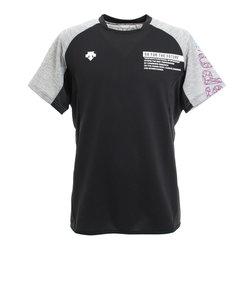 デサント(DESCENTE)ライトスウェット 半袖Tシャツ DVURJC20 BKGY
