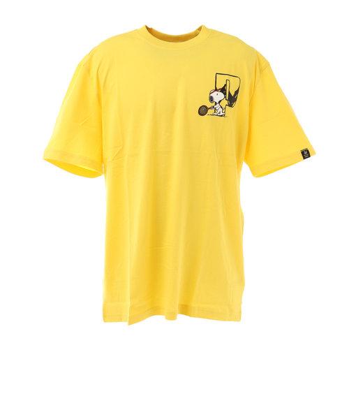 プーマ(PUMA)PEANUTS 半袖Tシャツ 530616 37 YEL