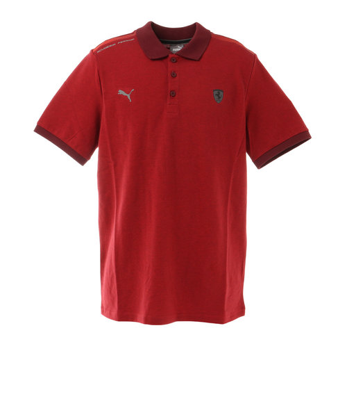 プーマ(PUMA)フェラーリ スタイル 2トーン ポロシャツ 599878 02 RED