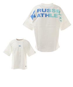 ラッセル(RUSSELL)吸水速乾 Dri-POWER DOUBLE FACE 半袖Tシャツ RBM21S0008 WHT