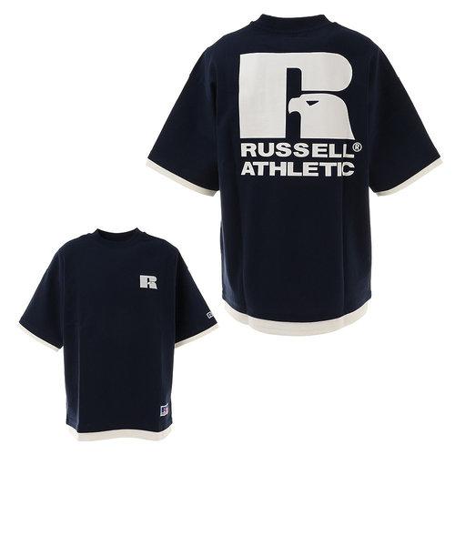 ラッセル(RUSSELL)プロコットン USA 半袖Tシャツ FL RBM21S0009 NVY ヘビーウェイト