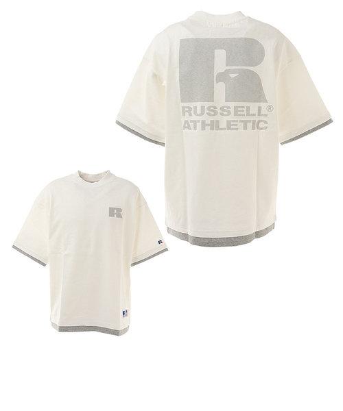ラッセル(RUSSELL)プロコットン USA 半袖Tシャツ FL RBM21S0009 WHT ヘビーウェイト