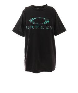 オークリー(OAKLEY)ジュニア クイックドライ ショートスリーブTシャツ O BARK YTR FOA402446-02E 半袖