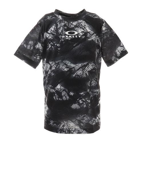 オークリー(OAKLEY)ジュニア クイックドライ ショートスリーブTシャツ GRA YTR FOA402447-00G 半袖