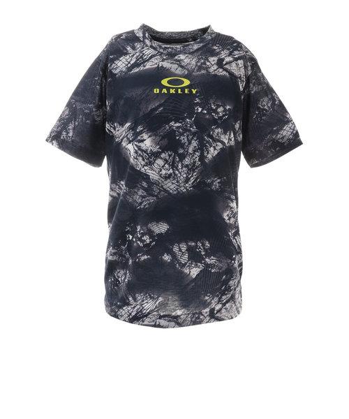 オークリー(OAKLEY)ジュニア クイックドライ ショートスリーブTシャツ GRA YTR FOA402447-66V