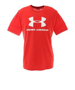 アンダーアーマー(UNDER ARMOUR)スポーツスタイル ロゴ ショートスリーブTシャツ 1358574 600 半袖