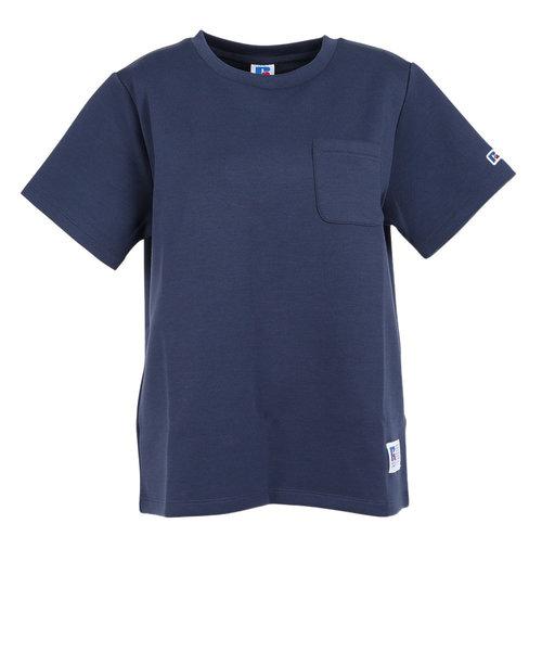 ラッセル(RUSSELL)吸水速乾 Dri-POWER クルー 半袖Tシャツ RBL21S1001 NVY 母の日