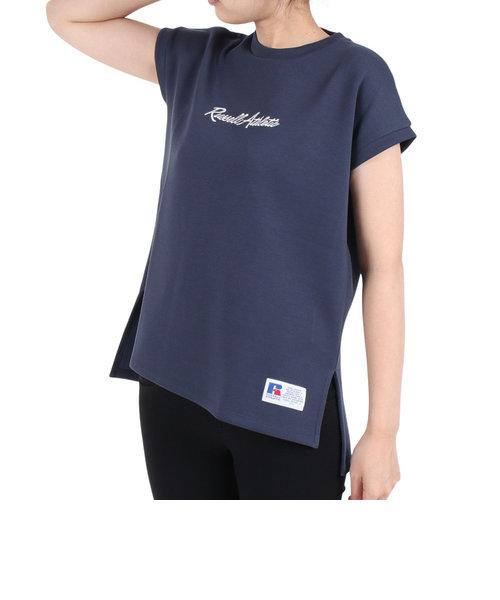 ラッセル(RUSSELL)吸水速乾 Dri-POWER FRECH 半袖Tシャツ RBL21S1002 NVY 母の日