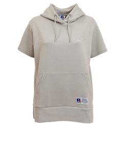 ラッセル(RUSSELL)吸水速乾 Dri-POWER フーディ 半袖Tシャツ RBL21S1003 LGRY