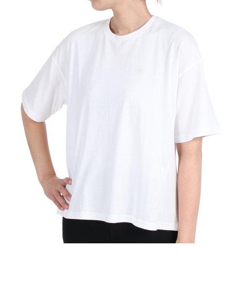 エルケクス(ELKEX)Panel rib 半袖Tシャツ 882EK1UK6211 WHT 母の日