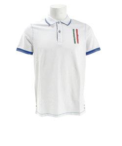 ゴルフウェア メンズ POLO MM Piquet DM31JG01 WHT