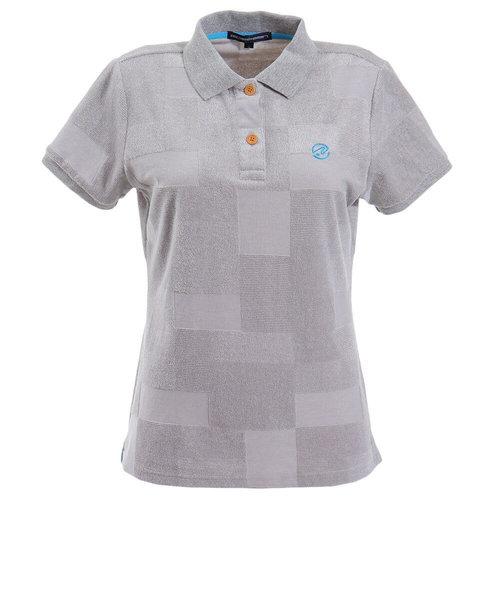 ROSASENパッチワーク柄パイルシャツ 045-21840-012
